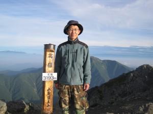北岳登山に行ってきました