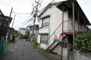 富士見町1丁目売り地1